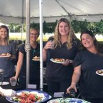 Collins Vision Staff at the 15th Anniversary Cookout