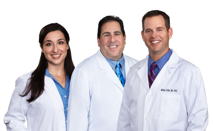 Dr. Nicole Alessi, Dr. Jay Rosen, and Dr. Michael J. Collins